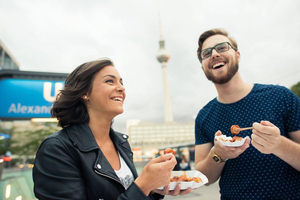 Original Berliner Currywurst