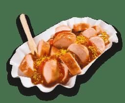 Currywurst im Darm
